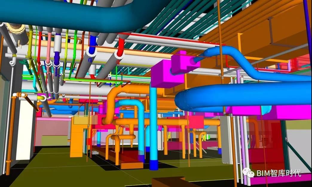 BIM工程综合管线设计原则及排布方法和服务流程